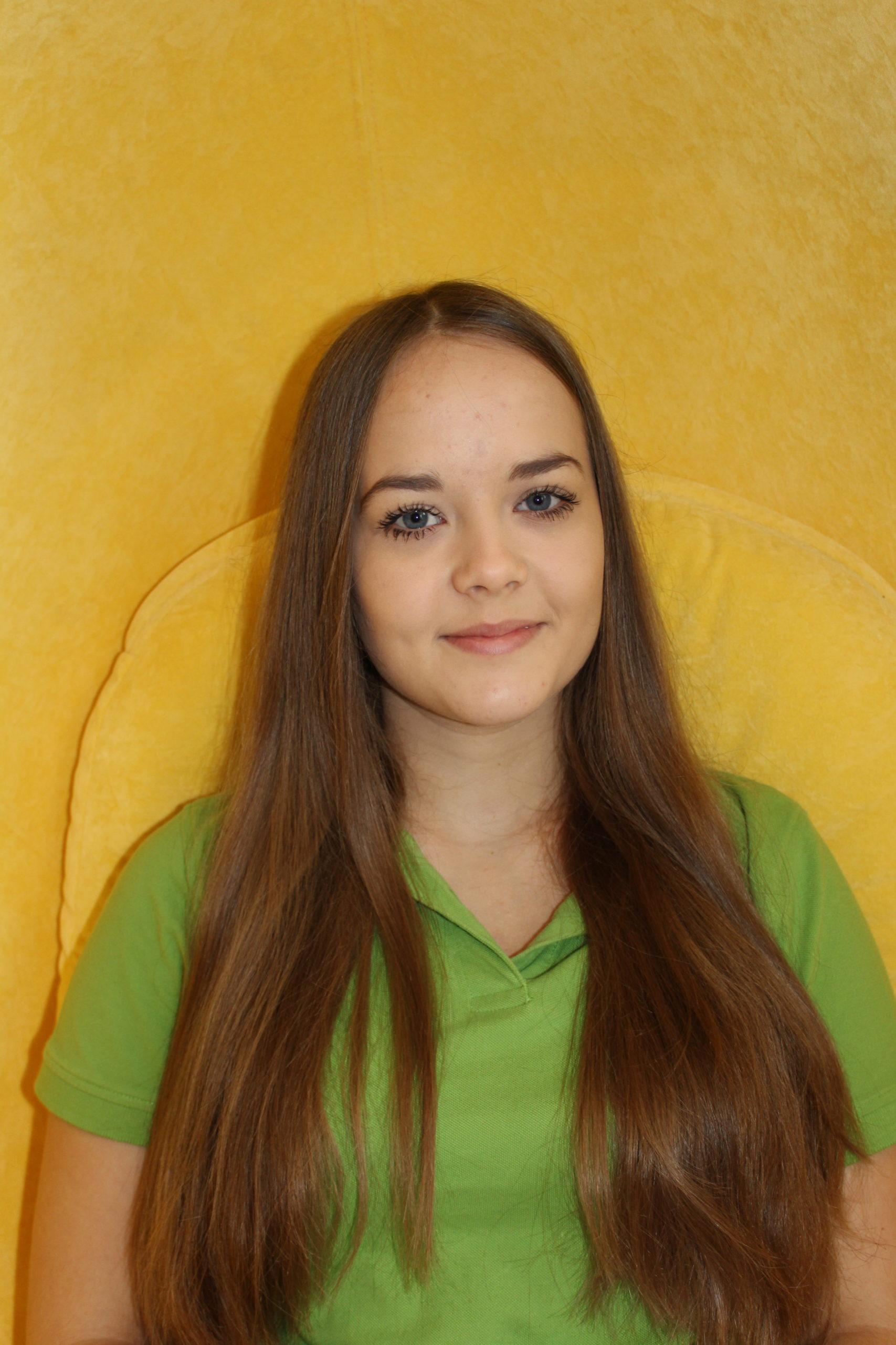 Auszubildende Selina Eckschmidt